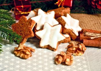Ricetta di Natale: biscotti con noci, cannella e cioccolato