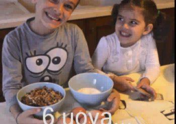Torta di noci. La ricetta di Lorenzo e Giulia