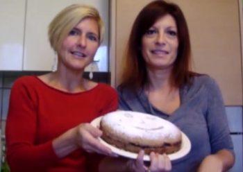 Torta con ingredienti BIO. La ricetta di Anna e Tania
