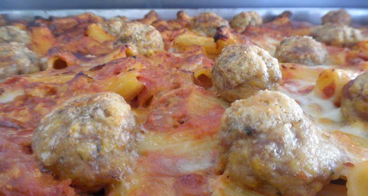 Pasta al forno con polpettine. La ricetta di Leonardo