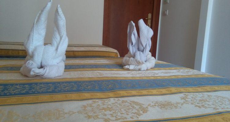 Come fare un coniglio con gli asciugamani