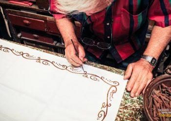 L'antica arte della stampa su tela: il mangano
