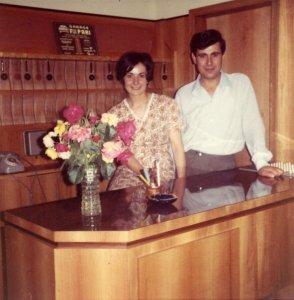 hotel san salvador - igea marina - anni sessanta