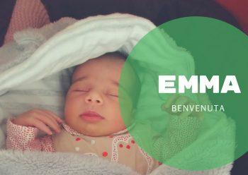Emma, dolcissimo fiocco rosa al San Salvador