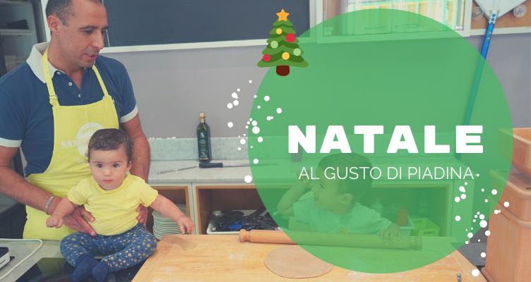 Un Buon Natale sta arrivando al gusto di Piadina