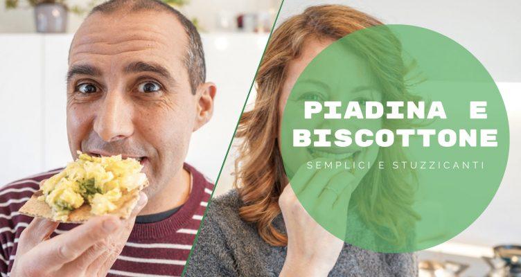 Due ricette da fare a casa semplici e sfiziose? La Piadina e il Biscottone! 😋
